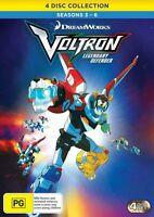 VOLTRON LEGENDARY DEFENDER Season 3 4 5 6 (Region 1) DVD The Complete Series 3-6