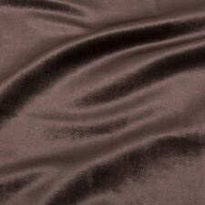 Almaty Velvet Brown Supreme Quality Fabric For Furnishings Upholstery Apparel