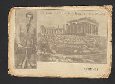 GLOBE TROTTEUR / PAUL GIMPLOWITSCH & RICHARD HUBER à ATHENES / Carte de Visite
