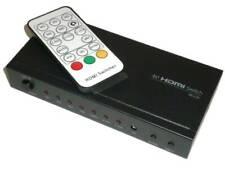Blackbird 4K 4x1 HDMI 1.4 Switch, HDCP 1.4 With Toslink & Analog Audio Extractor