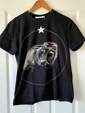 Authentic Givenchy Monkey Print T-Shirt 100% Cotton (M)Lightly Worn