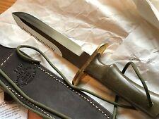 RANDALL #16 Dive knife waxed sheath w/ SAWTEETH