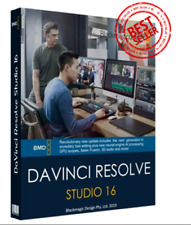 Davinci Resolve Studio v16 ✅ WINDOWS VERSION ✅ Digital Delivery
