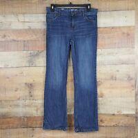 Cherokee Bootcut Jeans Girl's Size 16 Blue Denim Ti1