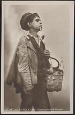 cartolina NAPOLI costumi napoletani-raccoglitore di stracci