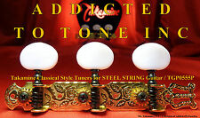 Takamine Classical Tuner Set Gold Plate -STEEL STRING CAPSTAN Genuine OEM Part