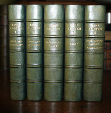1946 The Works of Jane Austen Fine Binding Sangorski & Sutcliffe Pride Prejudice