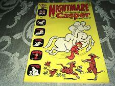 Nightmare The Galloping Ghost & Casper 1964 Harvey Giant Comic Book #5 FB