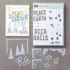 Stampin' Up! Carols of Christmas Stamp and Card Front Builder Die Set