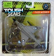 F-4J Phantom II Jet Fighter Die-cast Model From Tough Gears by Maisto With Stand