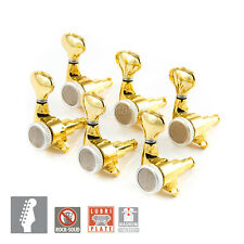 NEW Gotoh SGS510Z-S5 MGT Set MAGNUM LOCKING TRAD 6 in line Right Handed - GOLD