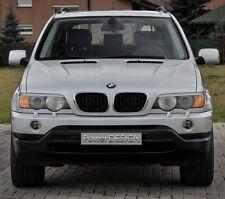 Le sopracciglia per BMW x5 e53 1999-2003 coperchi dei fari anteriori palpebre in plastica ABS