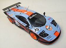 UT Mclaren BMW F1 GTR Longtail #39 GULF Lemans 1997 bad decals 1:18 diecast