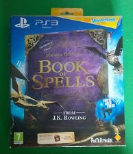 PS3 Book of Spells Game From J.K.Rowling (Harry Potter) & Wonderbook