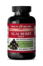 Give You Extra Energy Caps - Acai Berry Extract 1200mg - Acai Berry Juice 1B