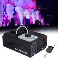 1500W Vertical Up Fogger Smoke Fog Effect Machine Spray Stage Club Disco Party