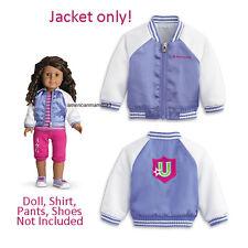 """American Girl MY AG INNERSTAR U JACKET University Varsity for 18"""" Doll Retired"""