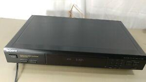 Sony ST- JX661 Stereo Synthesizer AM/FM Quartz Lock Digital Tuner Tested.