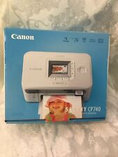CANON SELPHY CP740 COMPACT PHOTO PRINTER