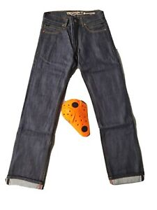 Triumph Motorcycle Raw Riding Jeans 38R