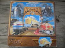 "Springbok ""Lionel Electric Trains"" 1000 Piece Puzzle Used Complete LOCOMOTIVE"