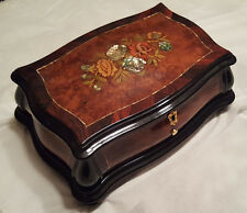 """Reuge Music Mother Of Pearl Inlaid 3.72 Note Music Box-""""Clair de Lune"""" C.Debussy"""