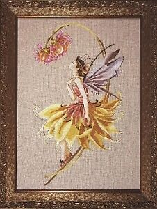 MD82 The Petal Fairy Counted Cross Stitch Chart Pack from Mirabilia