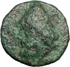 Birytis in Troas 300BC Ancient Rare Greek Coin Odysseus Ulysses  Club  i27573