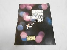 VINTAGE MUSICAL INSTRUMENT CATALOG #10043 - (1973) ROGERS DRUM & ACCESSORIES