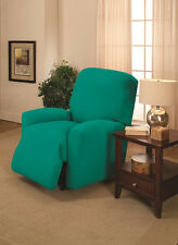 Aqua Chair Slipcover-Comes In All Other Sizes-Stretches For A Tight Fit-Look Now