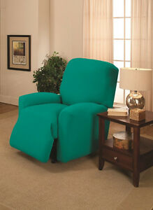 """""""DON'T PASS THIS UP""""  AQUA SOFA SLIPCOVER-ALSO COMES IN COUCH LOVESEAT RECLINER"""
