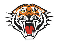 12 - Tiger Temporary Tattoos Tigers School Spirit  Small Face Tattoo Made in USA