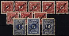 Einzelfrankatur-Briefmarken aus Österreich (1867-1918) Ungarn