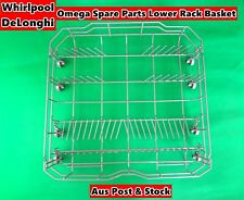 Whirlpool, Delonghi Dishwasher Spare Parts Lower Rack Basket - Brand New (Grey)