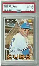 1967 Topps Billy Williams #315 PSA 8 Chicago Cubs HOF