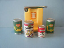 TYCO KITCHEN LITTLES CAN OPENER WITH 4 CANS