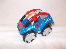 Marvel Figura 2011 vehículo Spider-Man Coche Azul Rojo Blanco 5 pulgadas