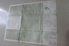 Vietnam war Us Army Macv map Laos Ban Nathon 6242 I