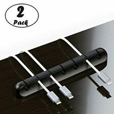 Self-Adhesive Multi-opening Cable Clips, Table Cord Organizer, Desktop.