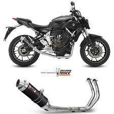 Scarico Completo Mivv Yamaha Mt-07 2018 18 Terminale Gp Carbonio Moto Alto