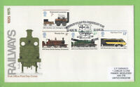 G.B. 1975 Trains set on Post Office First Day Cover, Buckfastleigh Devon