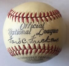 1941-42  Ford Frick National League  Spalding Official Ball With Box