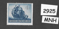 #2925     MNH stamp / 1944 /  PF04 + PF03 / Military Motorized / WWII Germany