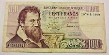 100 Francs, 1972, TTB Belgique Type Lombard (1962-1977) 100 Frank Belgïe