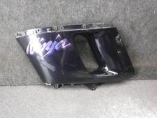 01 Kawasaki Ninja ZX600 ZX6-E ZX6E Left Mid Side Fairing 474