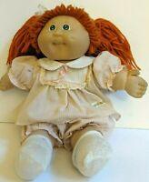 Xavier Roberts Cabbage Patch Doll Red/Orange Hair BlueGreen Eye 1978/1982 Coleco