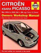 Haynes manuel de réparation service & CITROEN Xsara Picasso 04 -08 essence & diesel 4784