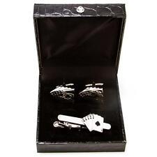 Royal Straight Flush Poker Cufflinks and Tie Bar Clip Wedding Gift Box Free Ship