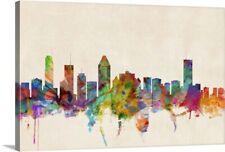 Montreal Canada Skyline Canvas Wall Art Print,  Home Decor