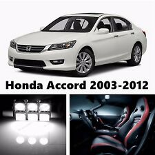 17pcs LED Xenon White Light Interior Package Kit for Honda Accord 2003-2012